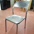 Lot de chaises en métal - 4