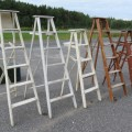 Lot of old wooden ladder - 1