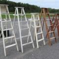 Lot of old wooden ladder - 1