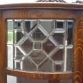 Magnifique buffet sideboard en chêne maillé, vaisselier - 5