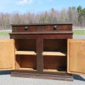 Rustic sideboard, cupboard was cut in the past - 4