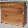 Rustic sideboard, cupboard was cut in the past - 5
