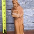Personnages de crèche sculptés en bois d'olivier - 12