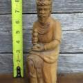 Personnages de crèche sculptés en bois d'olivier - 14