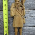 Personnages de crèche sculptés en bois d'olivier - 4