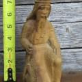 Personnages de crèche sculptés en bois d'olivier - 6