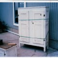 Little Quebec armoire, original color  - 2