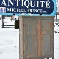Little Quebec armoire, original color  - 1