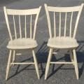 Petites chaises de style Windsor - 1