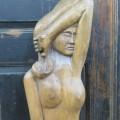 Sculpture signée, art populaire - 3