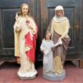 Statues religieuses en plâtre - 1