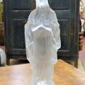 Statuette en verre, sainte-vierge - 1