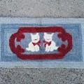 Tapis crocheté - 1