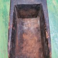 Très vieille petite pelle sculptée en bois - 6