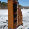 Side-by-side desk china cabinet - 4