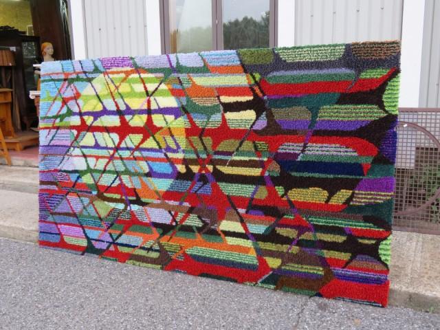 Très grand tapis crocheté 1