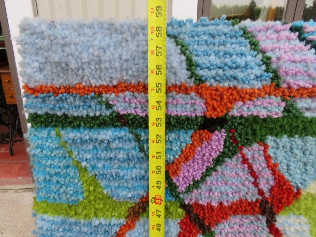 Très grand tapis crocheté 2