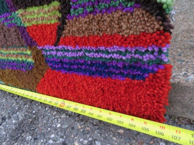 Très grand tapis crocheté 3